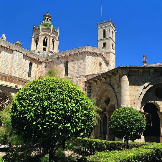 Cloître gothique du monastère cistercien de Santes Creus (Copyright : Felipe J. Alcoceba - ACT)
