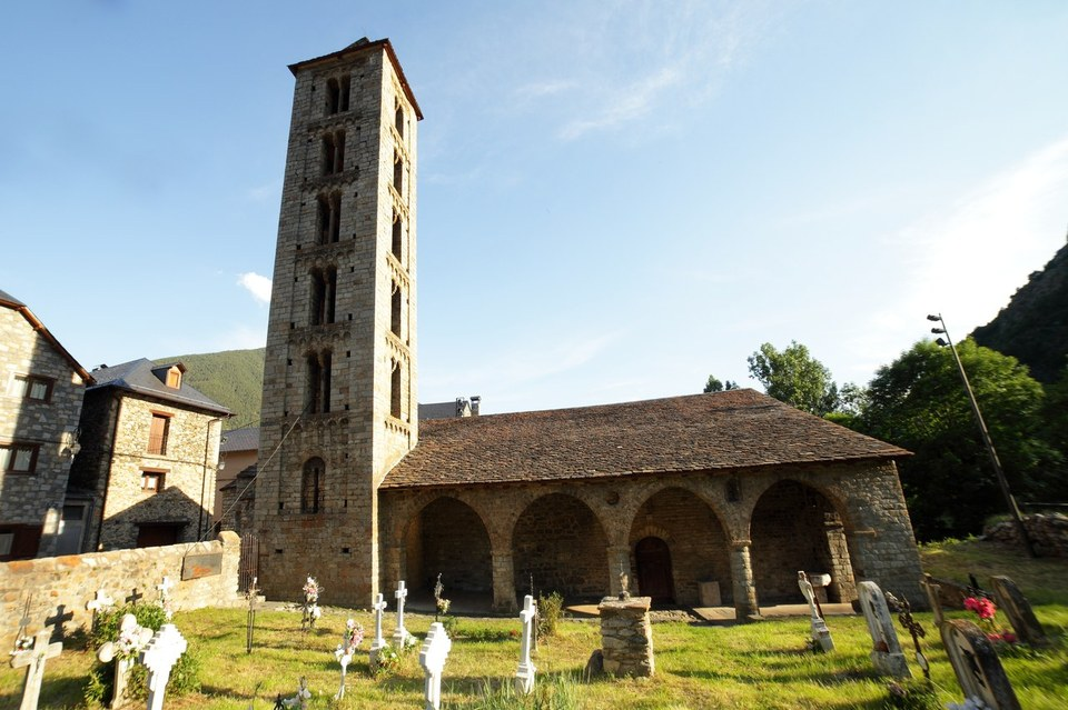 Église Santa Eulàlia d'Erill la Vall