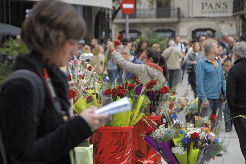 Où célébrer la Sant Jordi le 23 avril en Catalogne ?