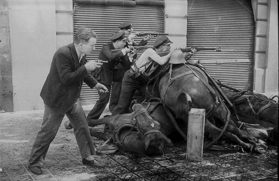 Photo de la guerre civile d'Espagne par Agusti Centelles