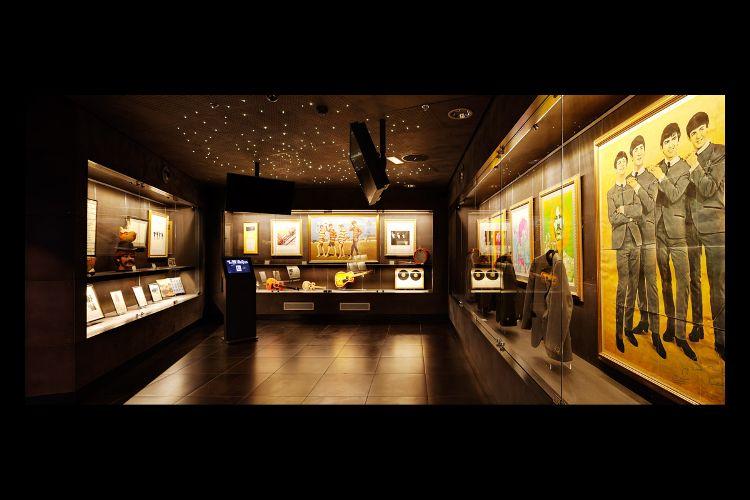 Salle du Musée du Rock de Barcelone