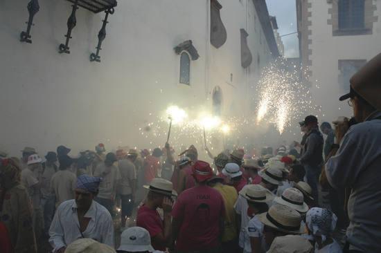 Photos du défilé de la Sant Bartomeu à Sitges