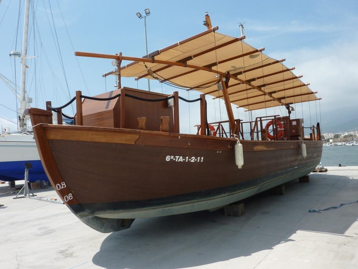 Llauret, bateau traditionnel