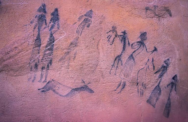 Peintures rupestres de la Roca dels Moros, El Cogul (Copyright Serveis Editorials Georama SL - ACT)