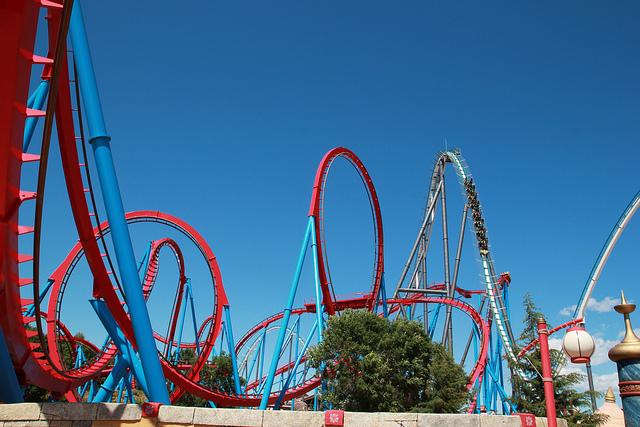 Le parc d 39 attractions port aventura s 39 agrandit - Barcelone parc d attraction port aventura ...