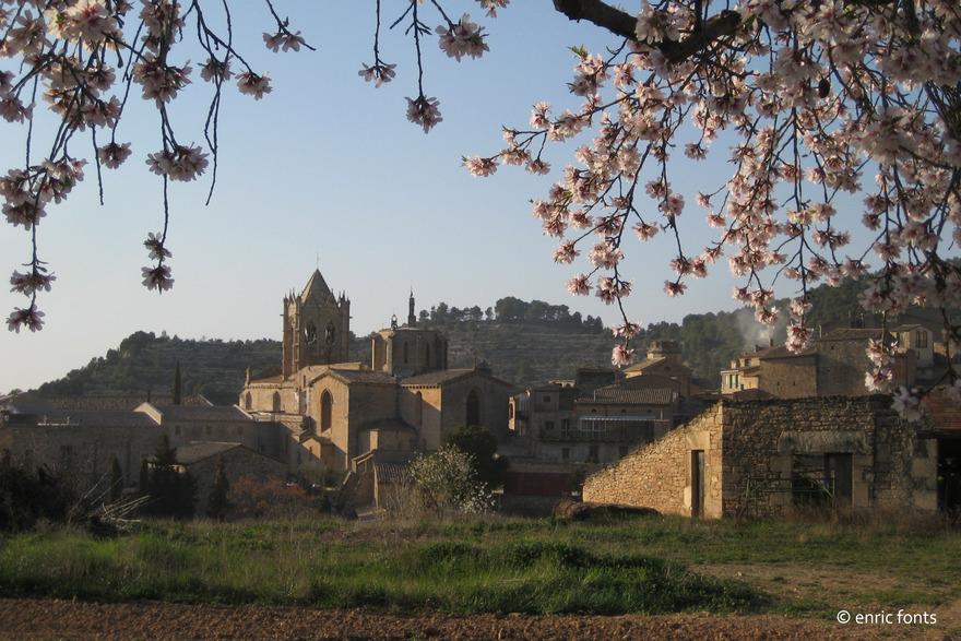 Credits Photos Vue Sur Le Village De Vallbona Les Monges Enric Fonts Monastere Roc Baldrich Marche Vic Agencia