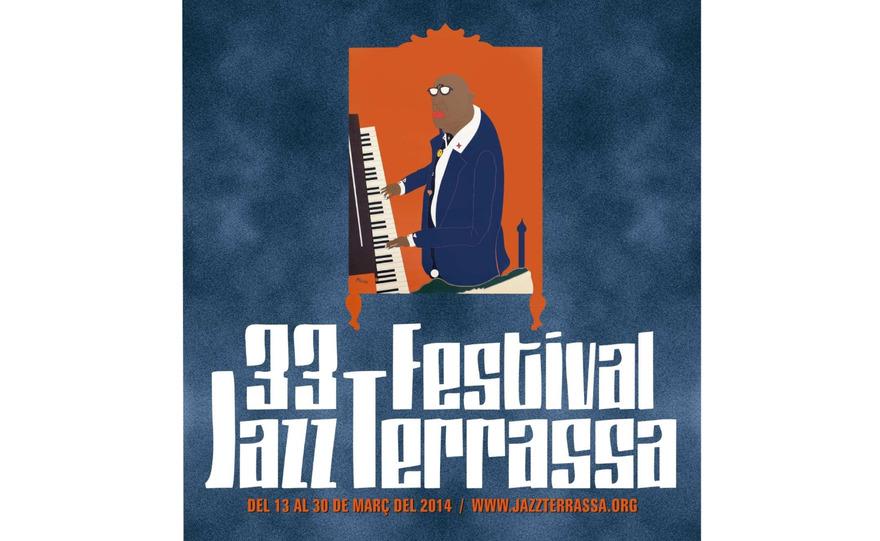 L'affiche de la 33ème édition du Festival de Jazz de Terrassa