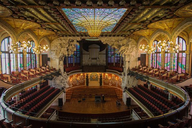 Palau de la música Barcelone
