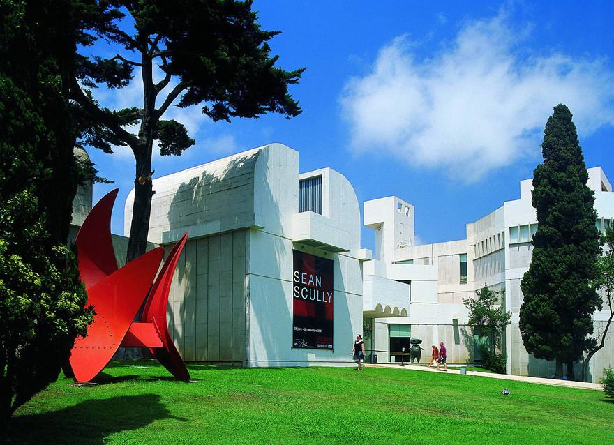 Fundació Joan Miró, oeuvre de l'architecte Josep Lluís Sert. Crédit - Imagen MAS