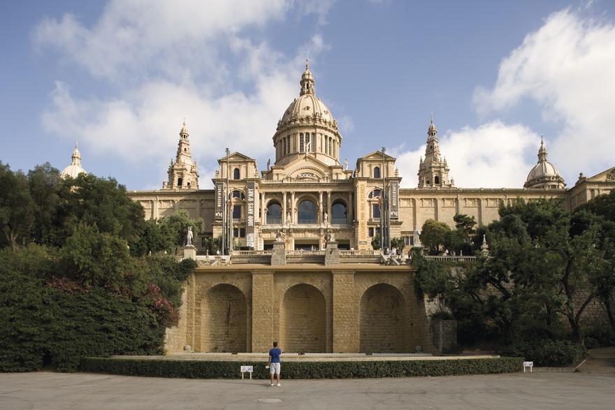 Museu Nacional d'Art de Catalunya. Copyright imagen M.A.S.