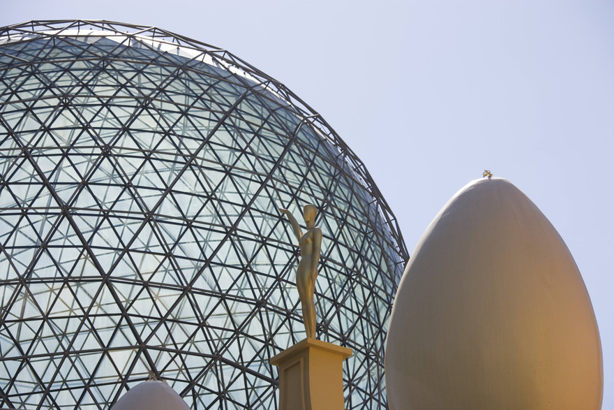 Torre Galatea, Teatre-Museu Dalí,  Copyright Nano Ca+¦as