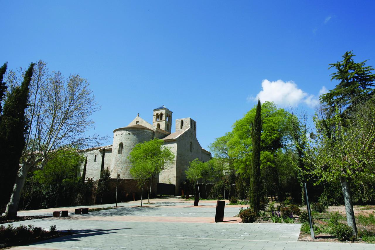 Monastère de Sant Benet del Bages. Copyright M+¦n Sant Benet