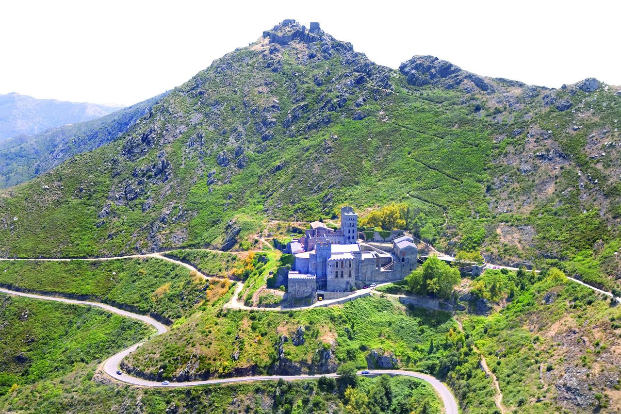 Monastère de Sant Pere de Rodes. Copyright Miguel Angel Alvarez
