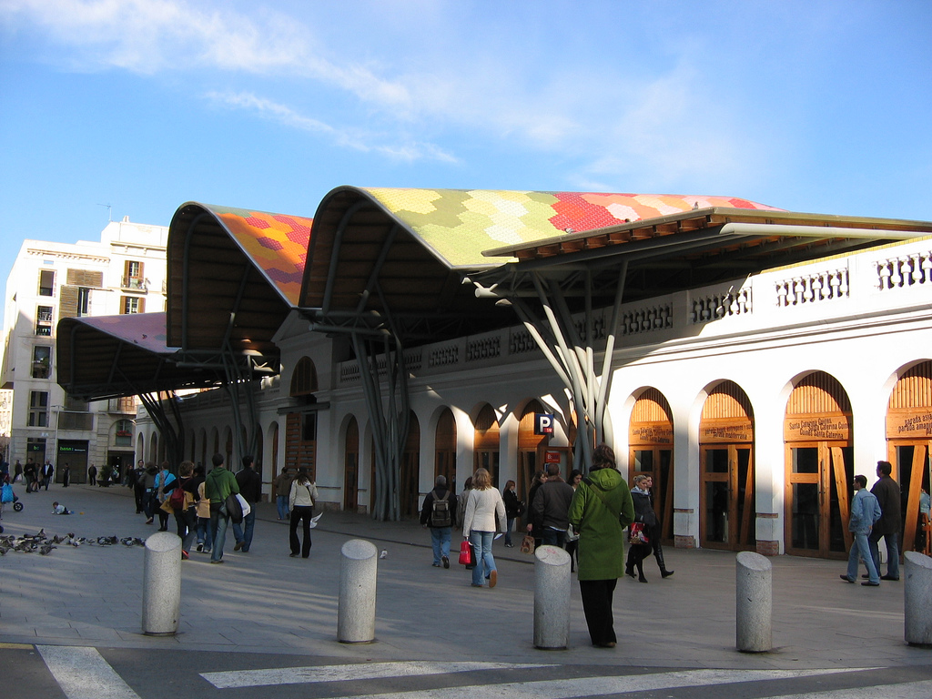 Mercat De Santa Caterina © Turisme De Barcelona