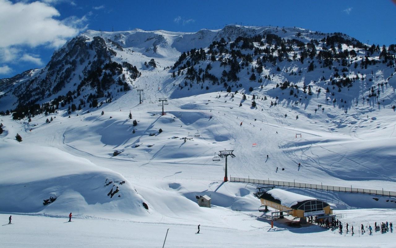 Baqueira Beret, la plus grande station de ski de Catalogne © ACT Varan Jordana