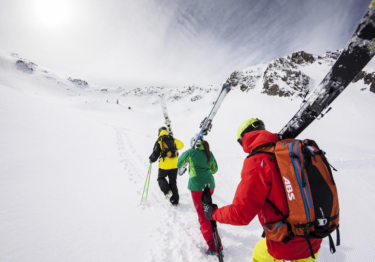 Des skieurs à Tavascan. Photo Marc Gasch