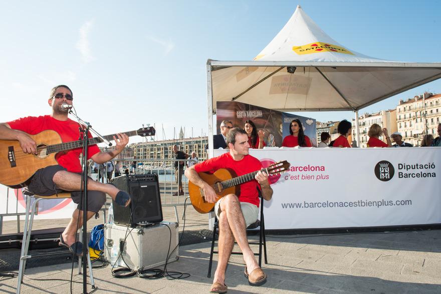 Els Cremats, musiciens Catalans à l'occasion du dernier événement à Marseille - © enviedecatalogne.fr