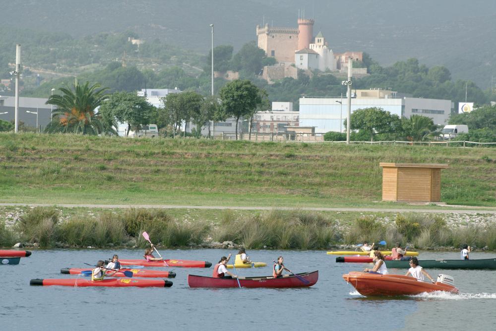 Kayak au Canal Olimpic de Castelldefels. Crédit photo: Foto tècnica fotògrafs