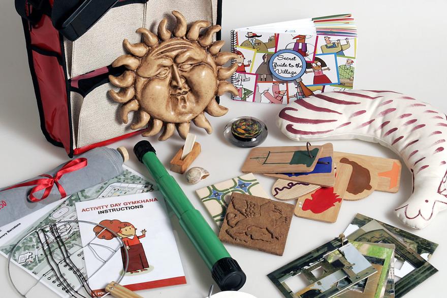 Outils pour le parcous enfant- ®Poble Espanyol