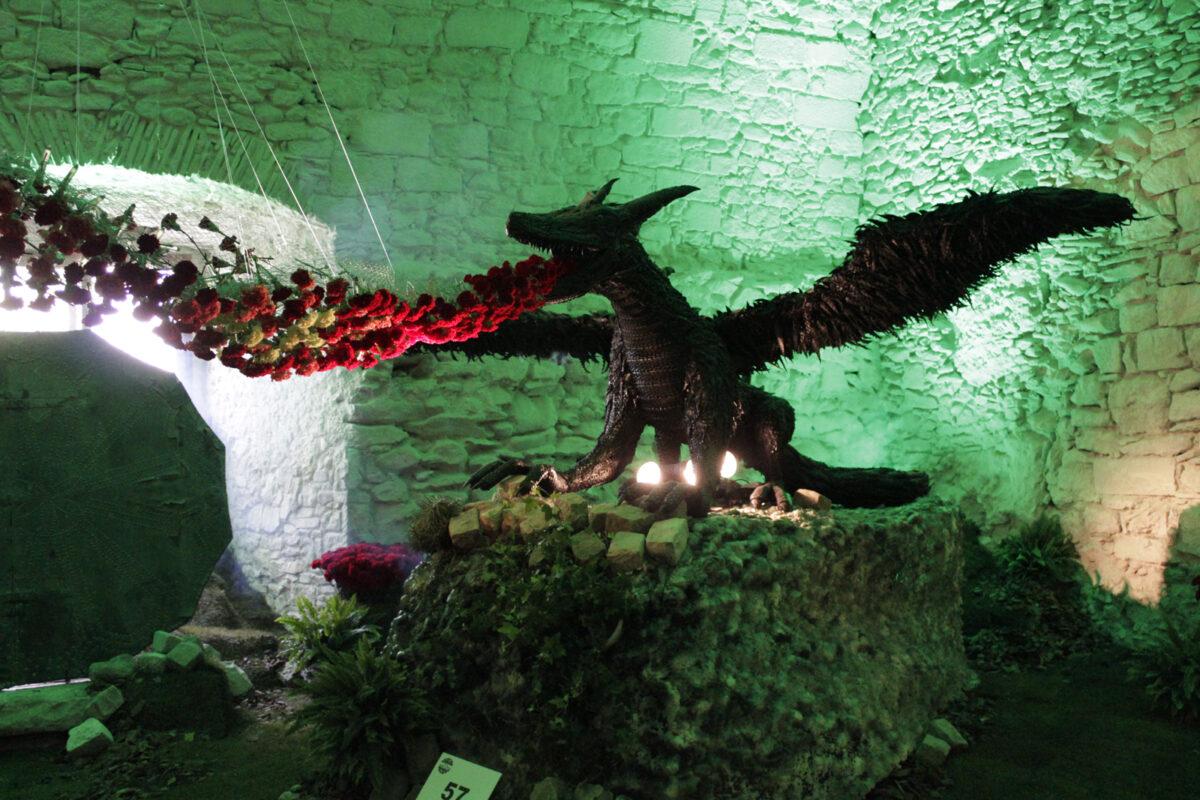 Girona Temps de Flors 2017 - Dragon - Ajuntament de Girona