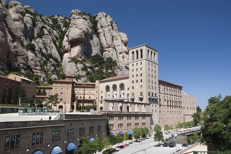 Le monastère de Montserrat - Photo Juan José Pascual