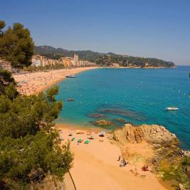 Sélection de plages en Catalogne pour les familles