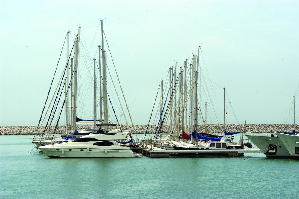 Voilier au port de Vilanova i la Geltrú. Copyright Marc Ripol
