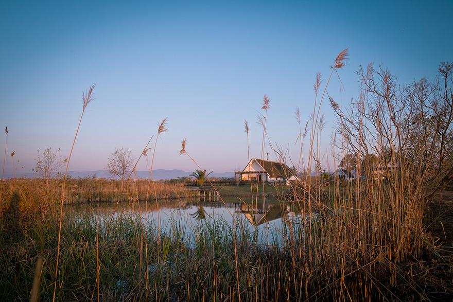 Baraque du Delta de l'Ebre. Photo Adeline Gressin