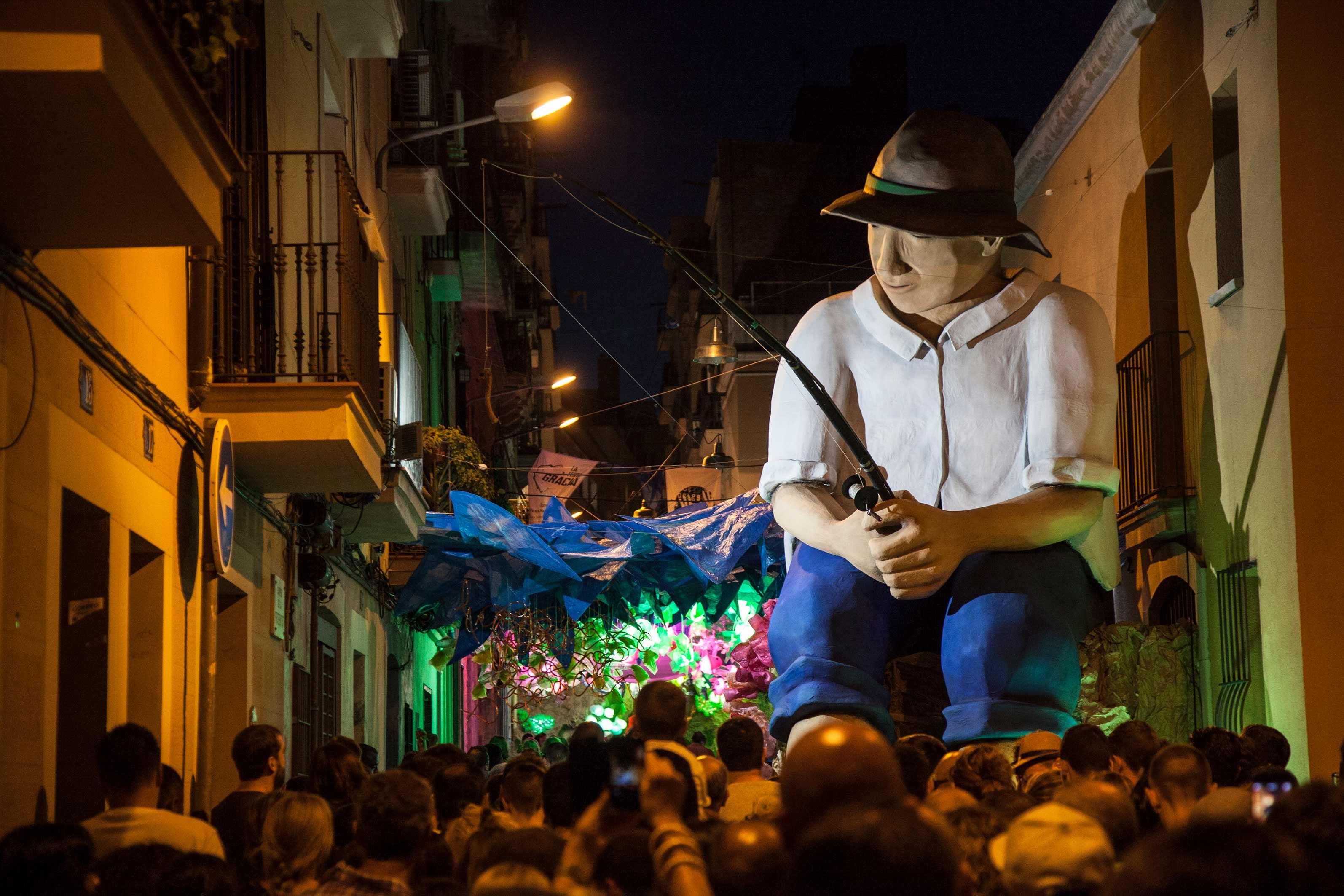 Carrer Fraternitat © Fundació Festa Major de Gràcia