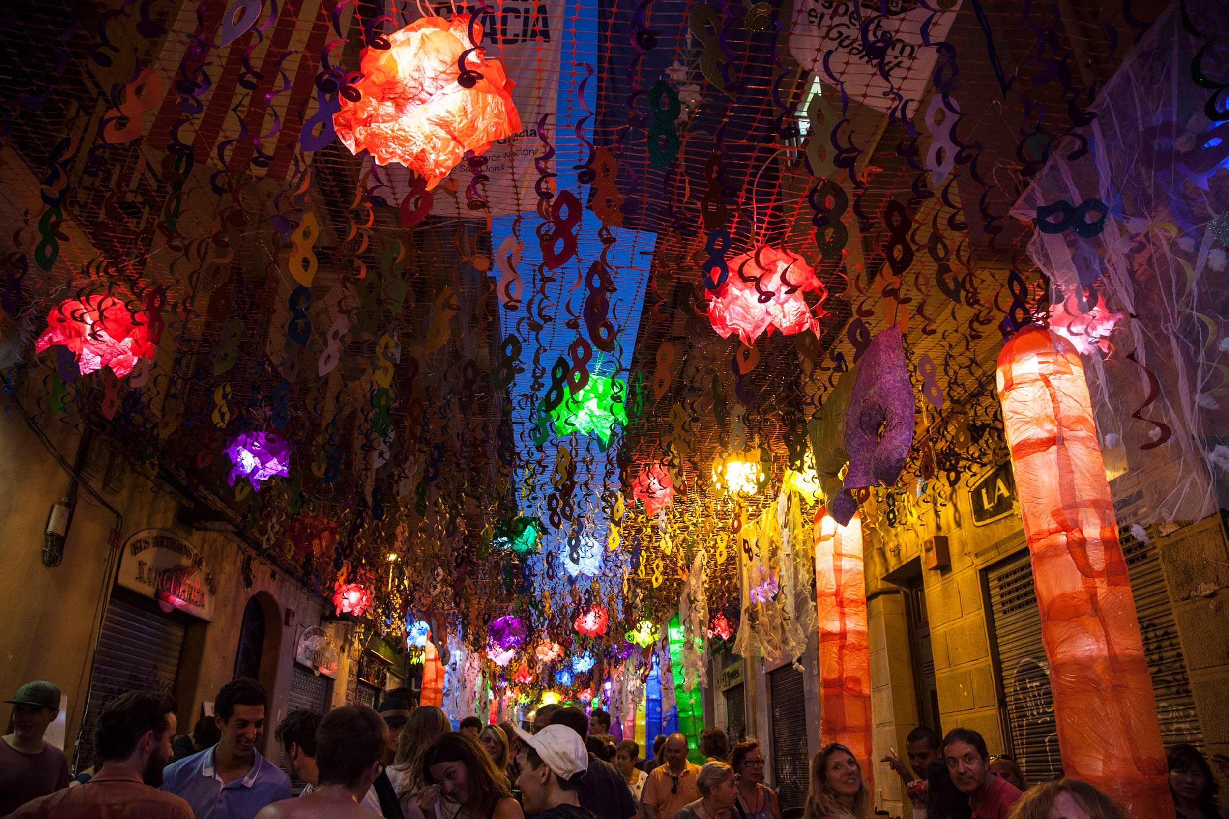 Carrer Puigmartí © Fundació Festa Major de Gràcia