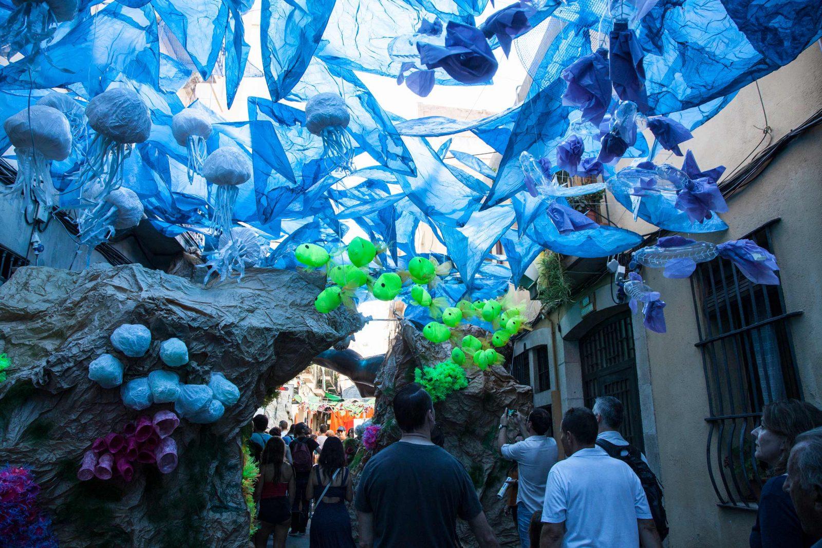 La Festa Major de Gràcia à Barcelone