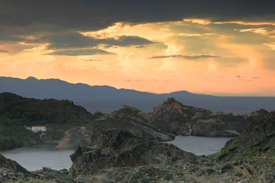 Coucher de soleil sur le Cap de Creus