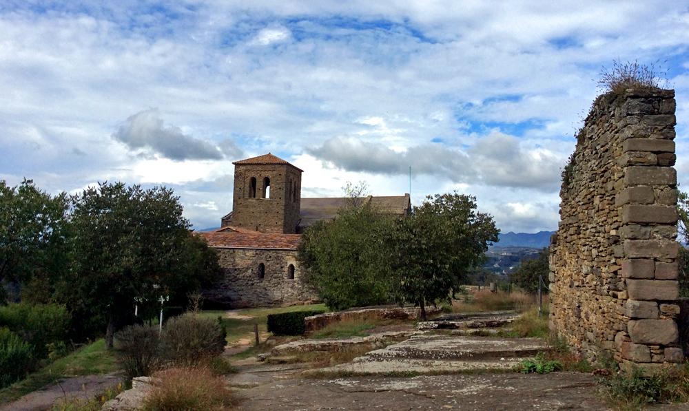 Monastère de Sant Pere de Casserres. Photo Milena Oliveras