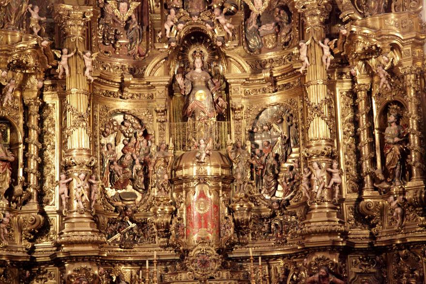 Le retable de l'église Santa Maria de Cadaqués