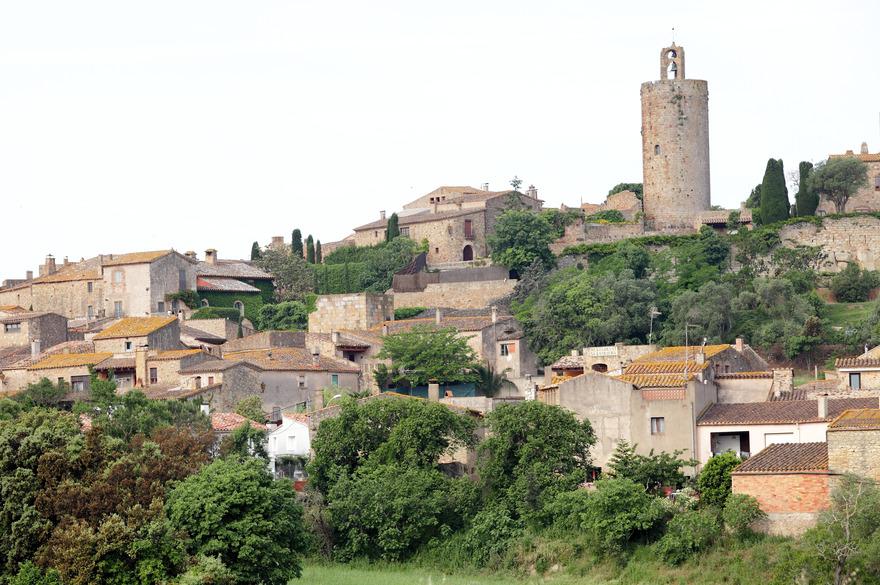 Le centre du Village de Pals - Vincent Gaudin