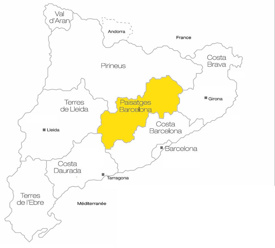 Carte des Paisatges Barcelona