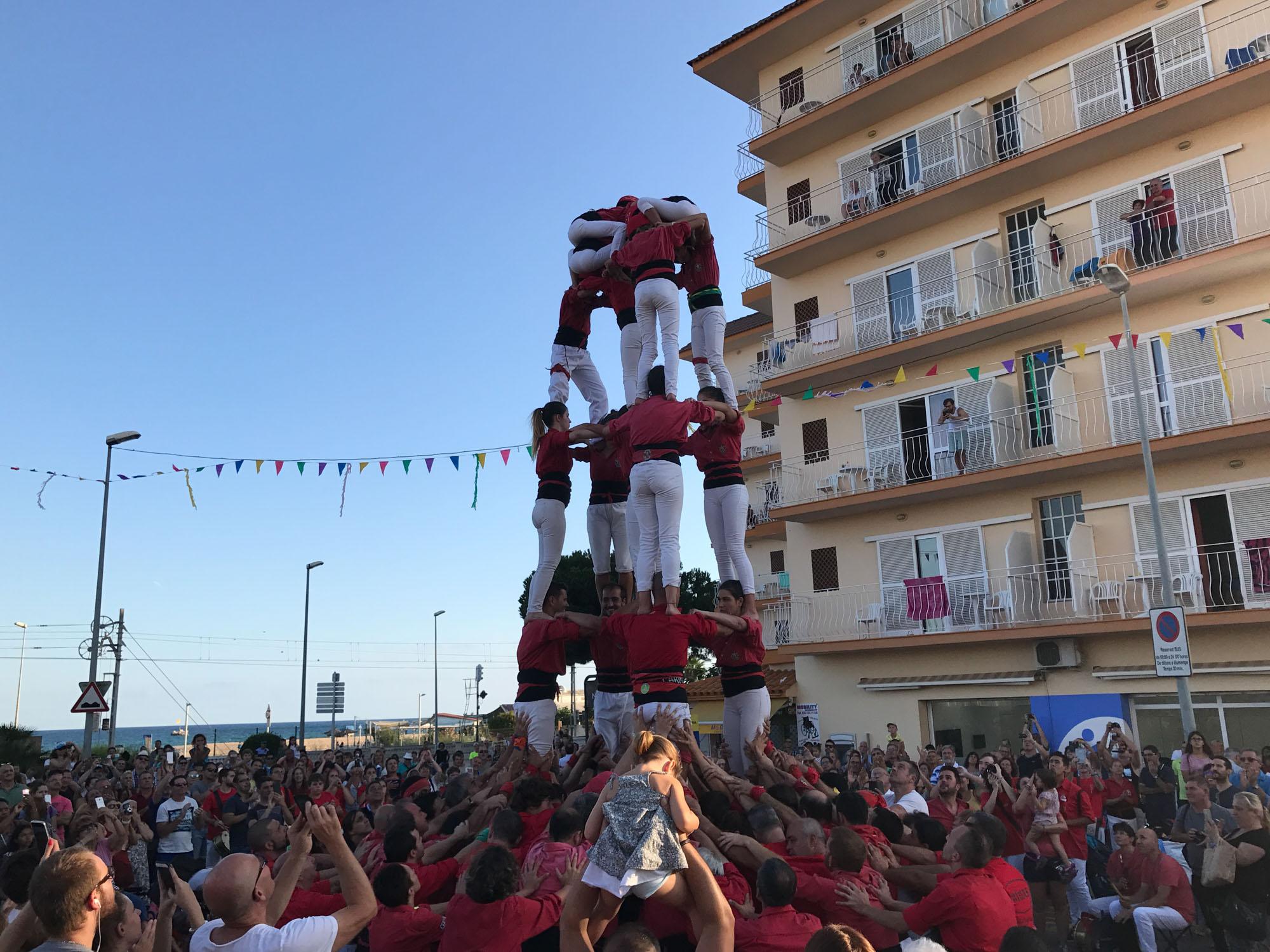 Festa Major, Castellers © Ajuntament Malgrat de Mar