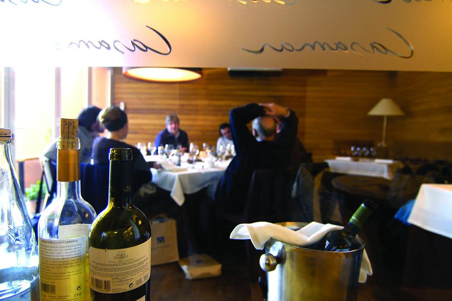 Le restaurant Casamar, l'un des restaurants SlowFood de Catalogne. - Chopo (Javier Garc+¡a-Diez)