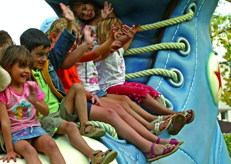 Enfants dans le Parc de Francesc Macià @Cablepress