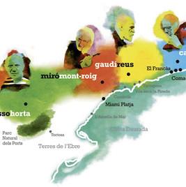 Gaudí, Miró, Casals, Picasso…sur la route des génies