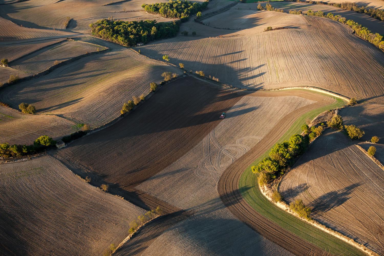 Cultures d'irrigation à Talavera