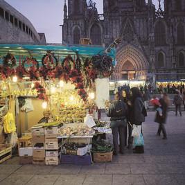 Le marché de Noël Barcelone et la Roca Village