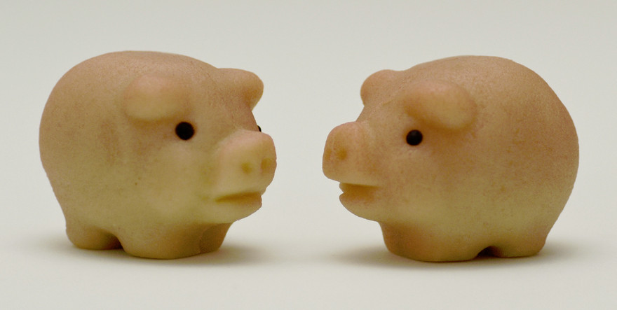 Petits cochons en massepain - Alice Wiegand - CC BY-SA 3.0