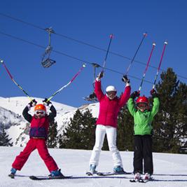 Où skier en famille en Catalogne ?