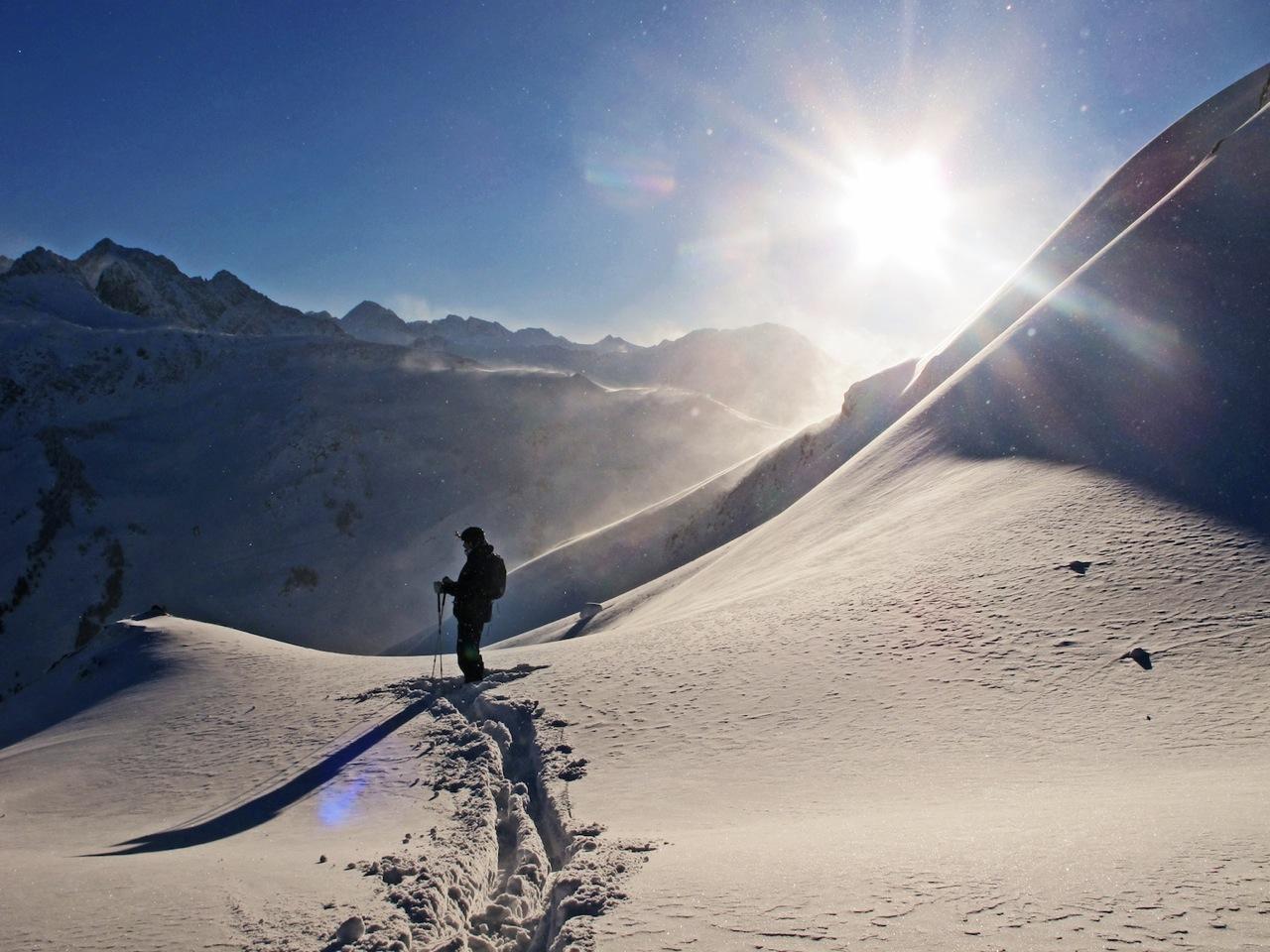 Freeride dans le Val d'Aran