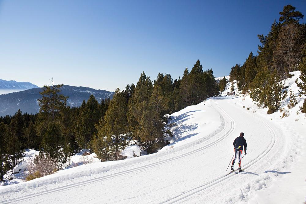 Ski Nordique © Oriol Clavera