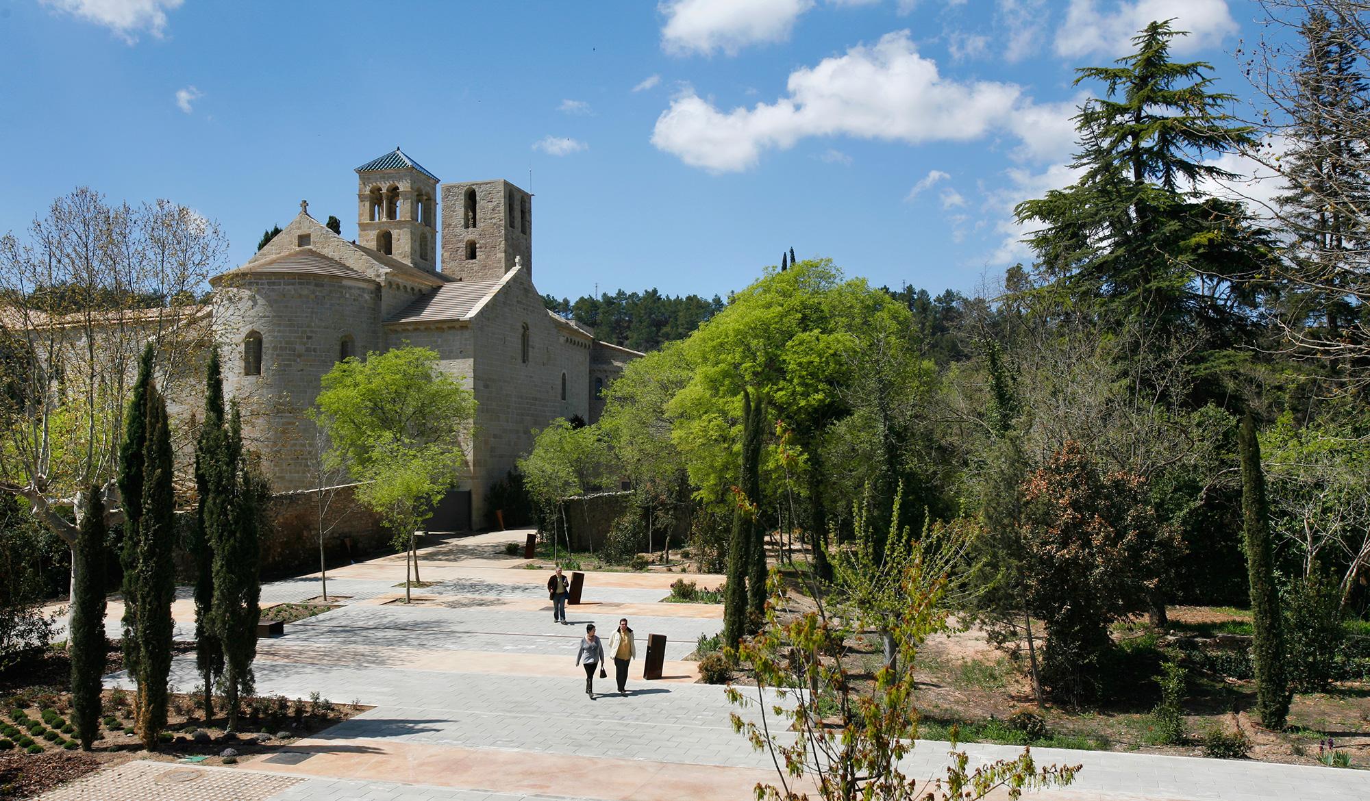 Le monastère Món Sant Benet - ©MarcVila