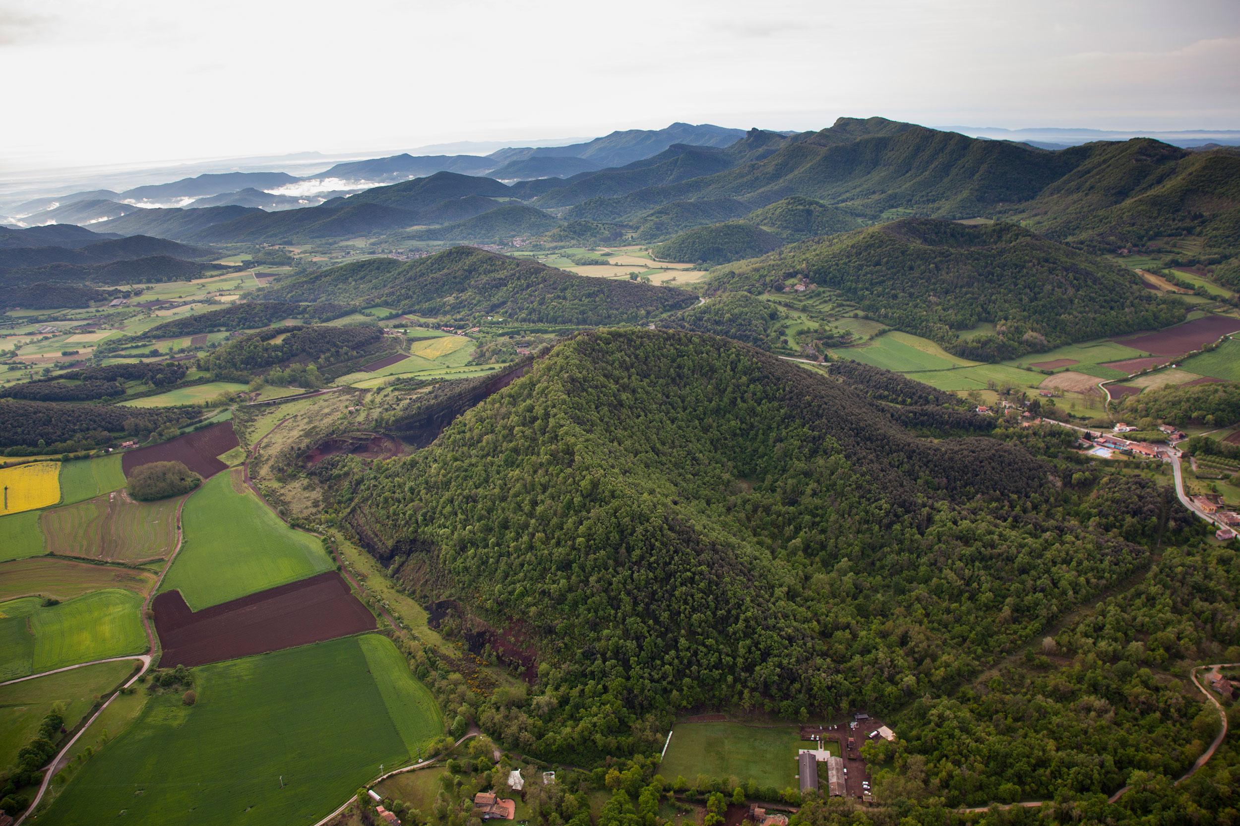 Le Parc Naturel de la Zone Volcanique de la Garrotxa
