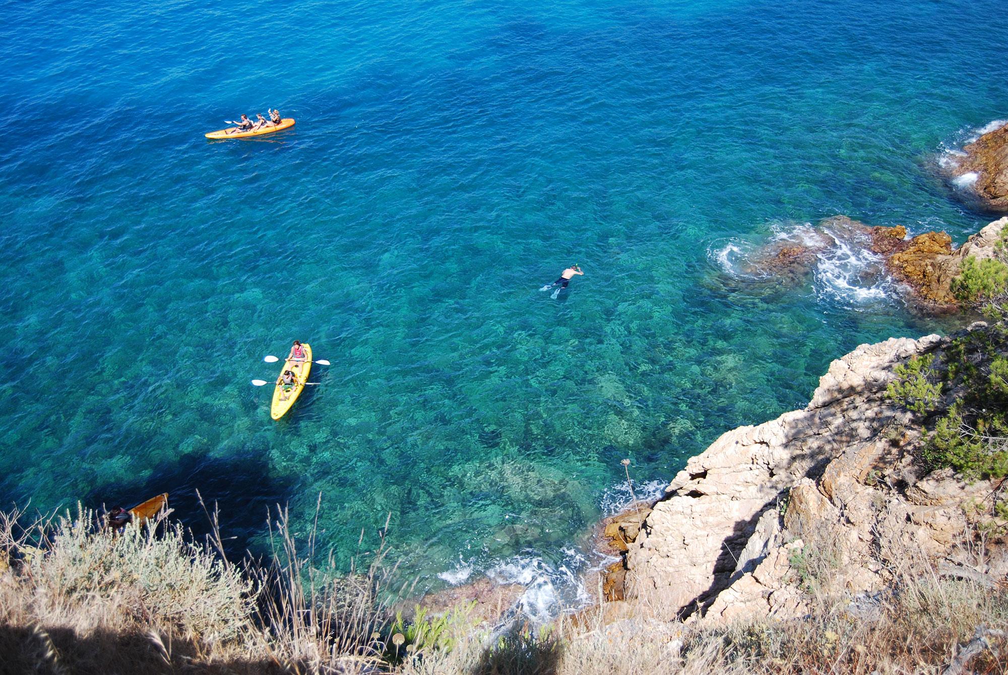 Snorkeling en Catalogne