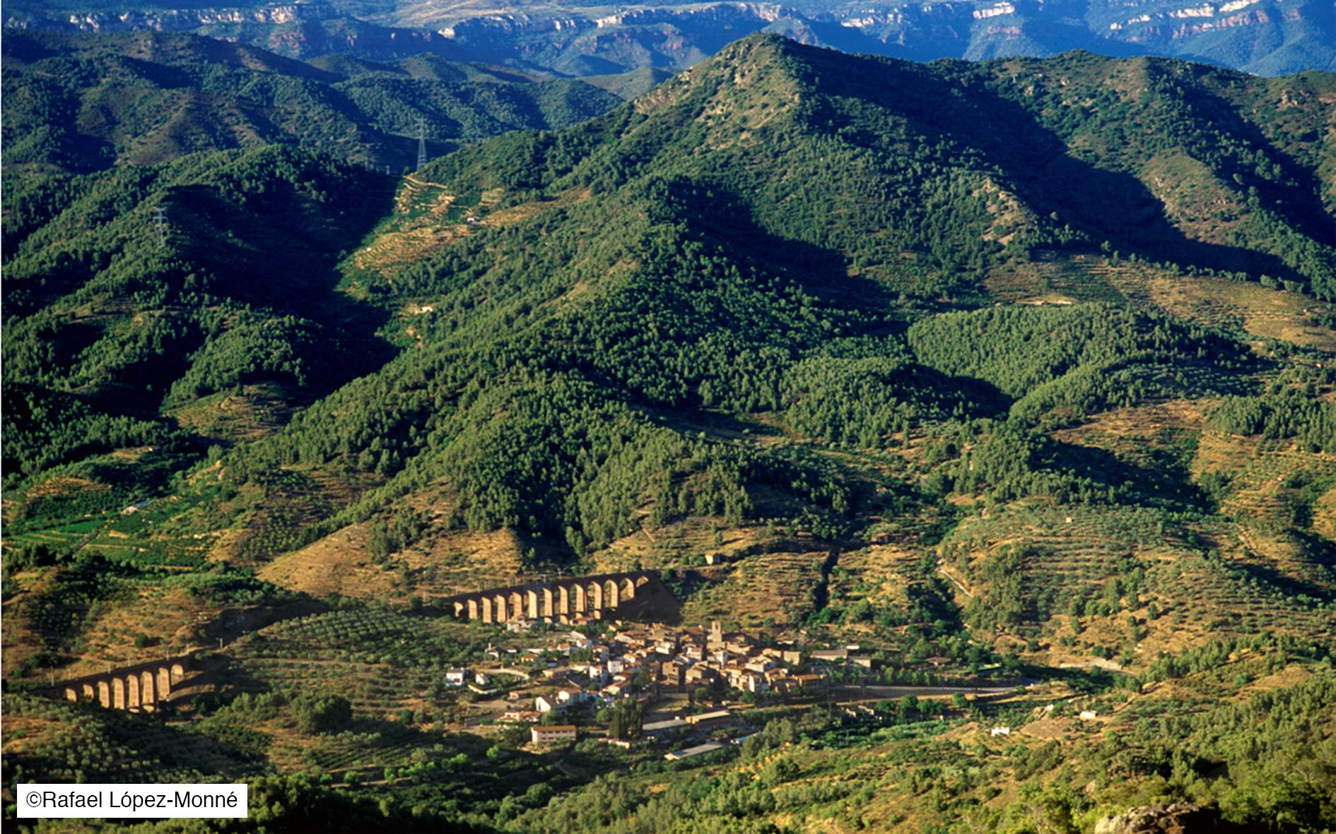 Riudecanyes et le château Escornalbou